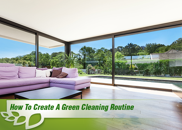 Green Cleaning Routine