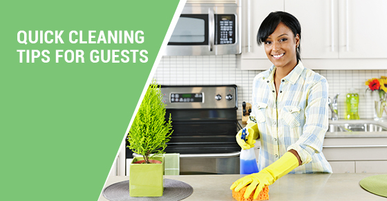 Cleaning Tips for Guests