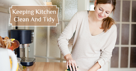 Keeping Kitchen Clean And Tidy