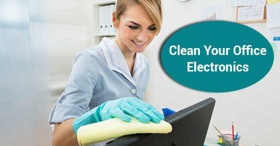 Clean Your Office Electronics