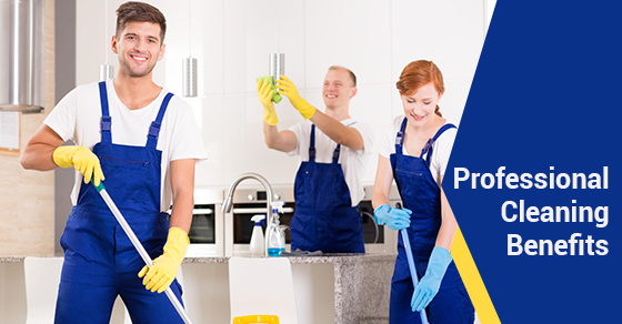 Professional Cleaning Benefits