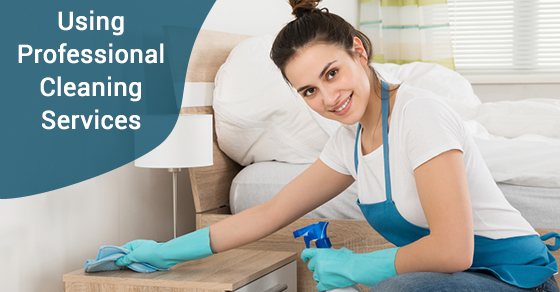 Using Professional Cleaning Services