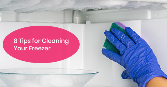 Freezer cleaning tips