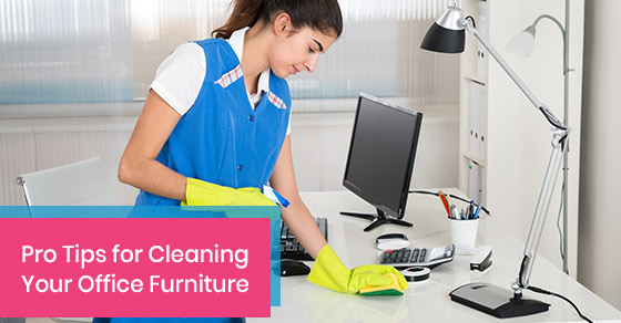 Tips for cleaning your office furniture