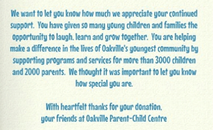 Oakville Parent-Child Centre